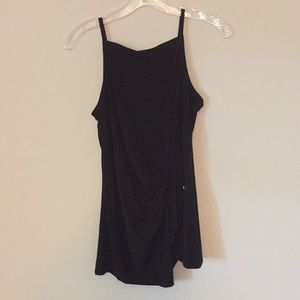 Brand new black sleeveless shirt